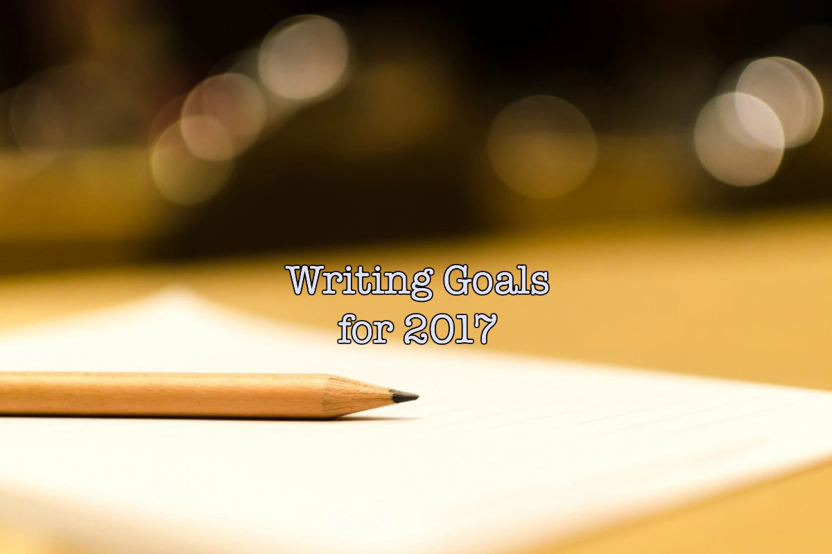 Writing Goals for 2017