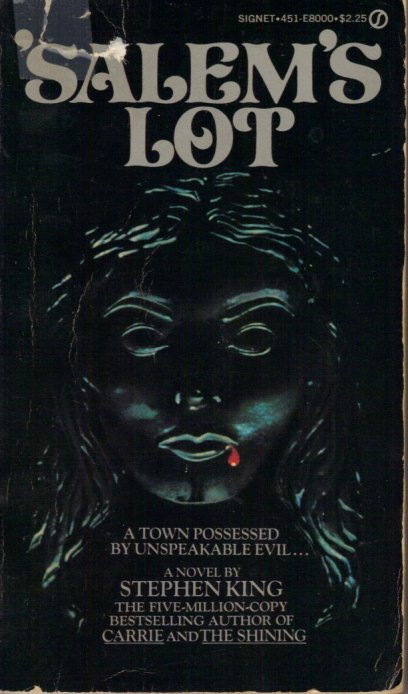 stephen king salem's lot signet 1976 pb
